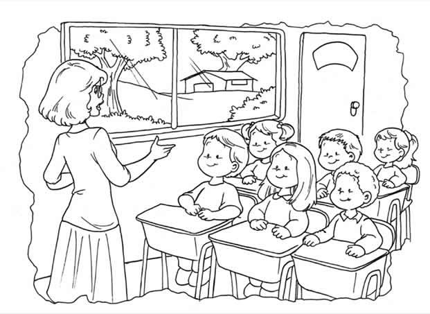 Dibujos De Ninos Para Una Maestra