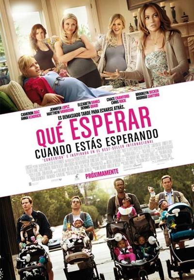 Que Esperar Cuando Estas Esperando DVDRip Español Latino Película 2012