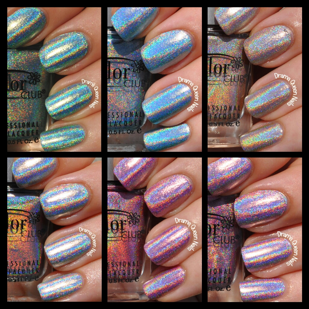 Drama Queen Nails: Color Club Halo Hues Collection