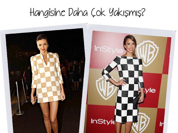 Hangisine Daha Çok Yakışmış? | Miranda Kerr vs Jessica Alba