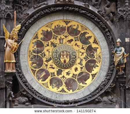 Calendarul solar Praga Cehia