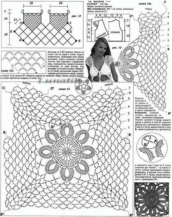BOLEROS Y CHALECOS | Crochet tejidos
