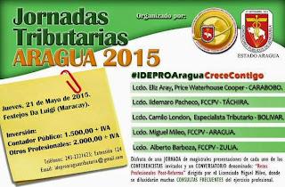 JORNADA TRIBUTARIA ARAGUA 2015