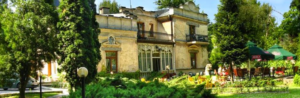 W ogrodzie Eweliny - wiersz Jolanty Marii Dzienis, zdjęcie ze strony internetowej pensjonatu Ewelina - http://pensjonat-ewelina.pl/