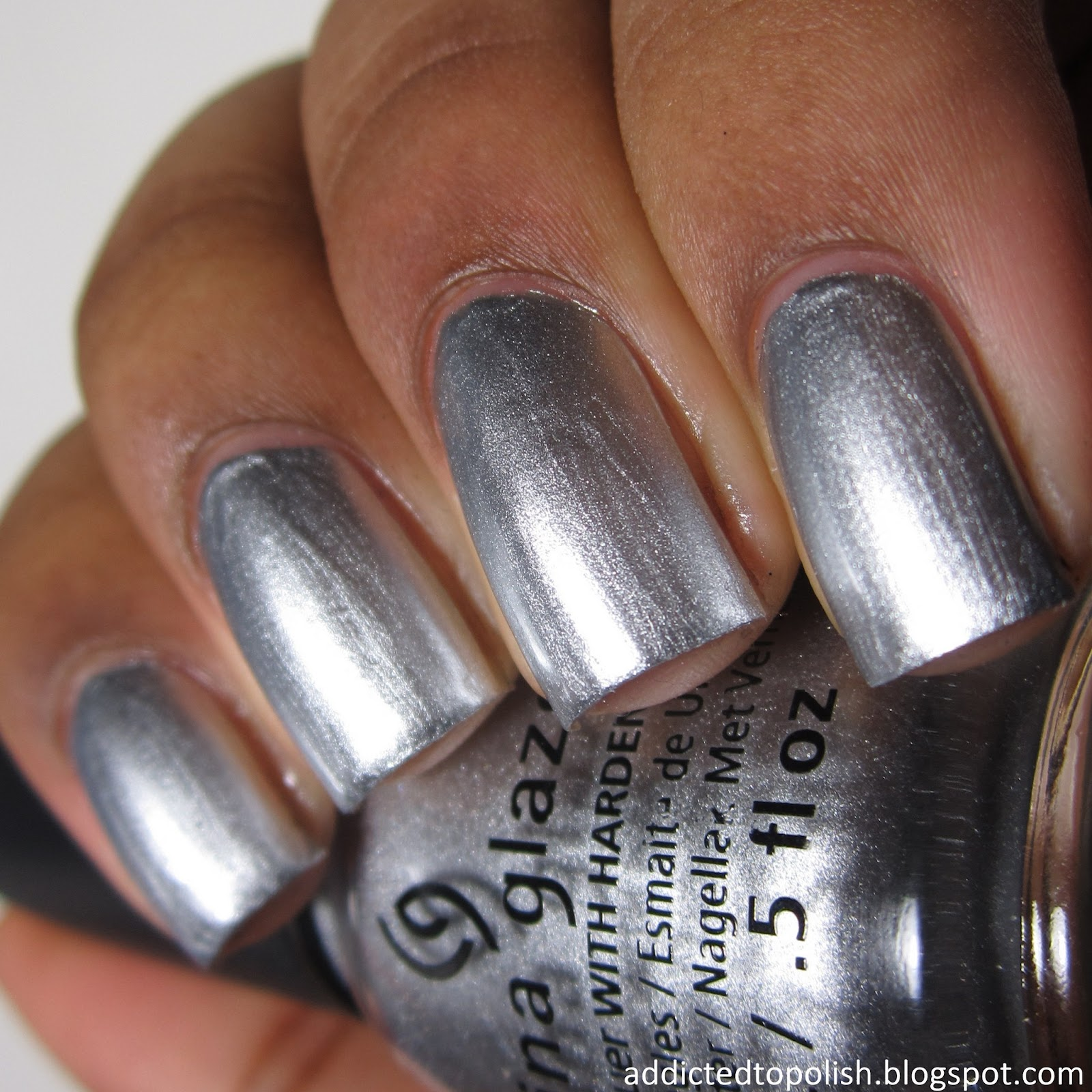 China Glaze I'd Melt for You Twinkle Winter 2014