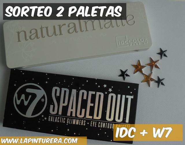 Sorteo: 2 paletas (IDC y W7)