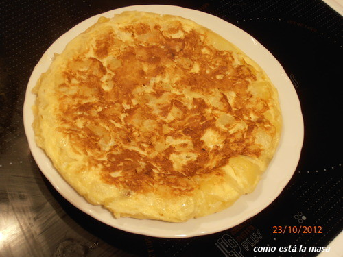 Como est la masa tortilla espa ola en el microondas - Tortilla en el microondas ...