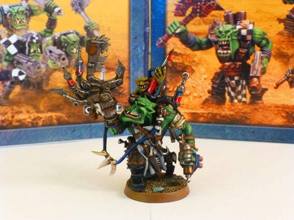 WIP ork painboy - front