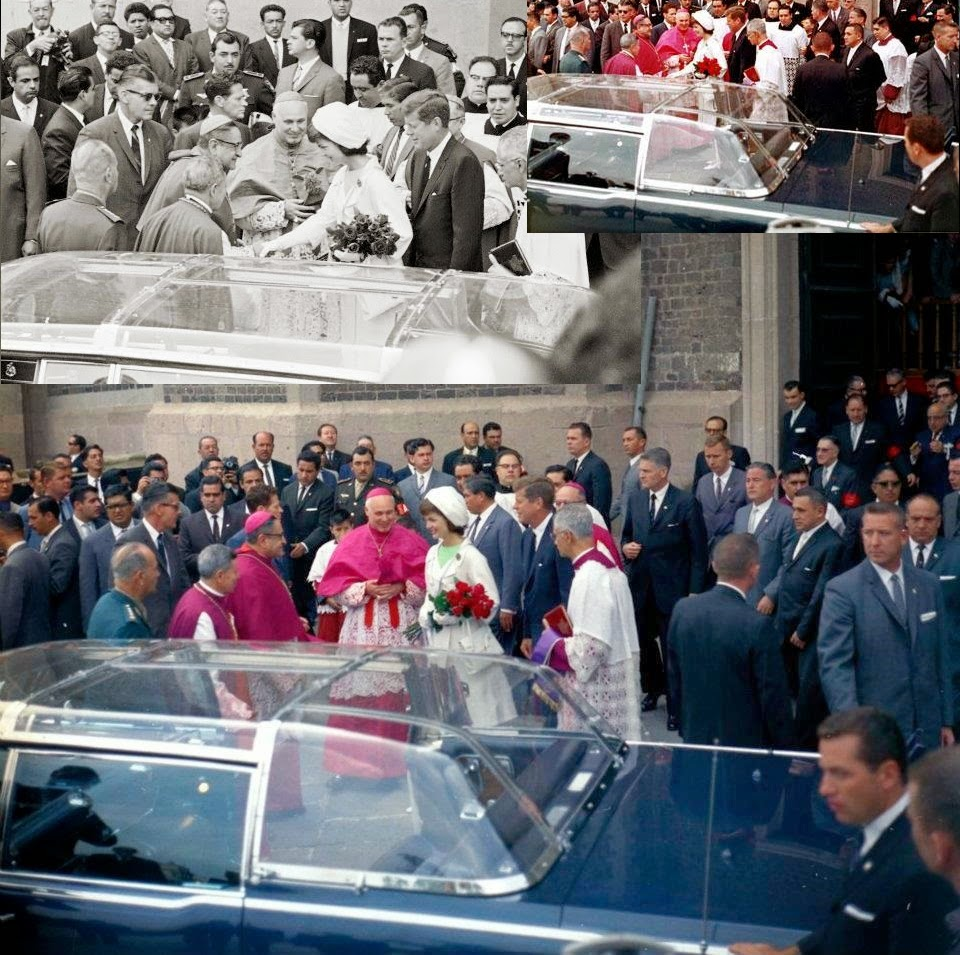 JFK Jackie bubbletop Mexico 6/29/62