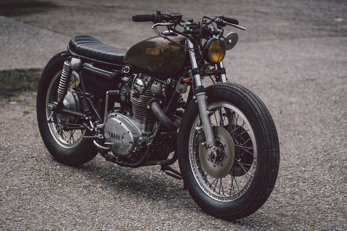 0 Unapologetic Soyouz Cycles Custom Yamaha XS650