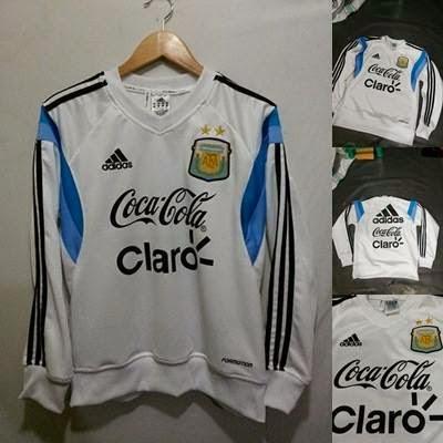 Sweater GO Argentina Putih