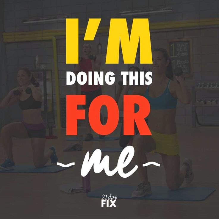 I'm doing this for ME.  Commit to your daily success with the 21 Day Fix, get the results you want and the support you need!  www.HealthyFitFocused.com