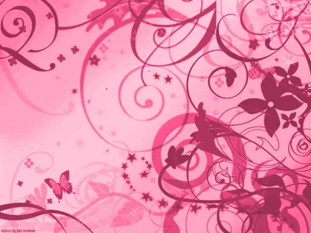 banilung: pink wallpaper designs