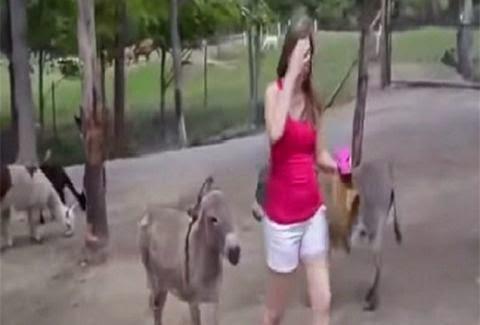 ΘΑ ΠΑΘΕΤΕ ΠΛΑΚΑ: Δείτε τι θα κάνει αυτό το γαϊδούρι στην κοπέλα [video]