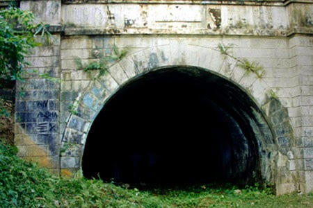 Historic Centennial Tunnel in Aringay, La Union