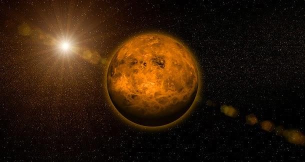 Descoberto anel de poeira na órbita de Vénus