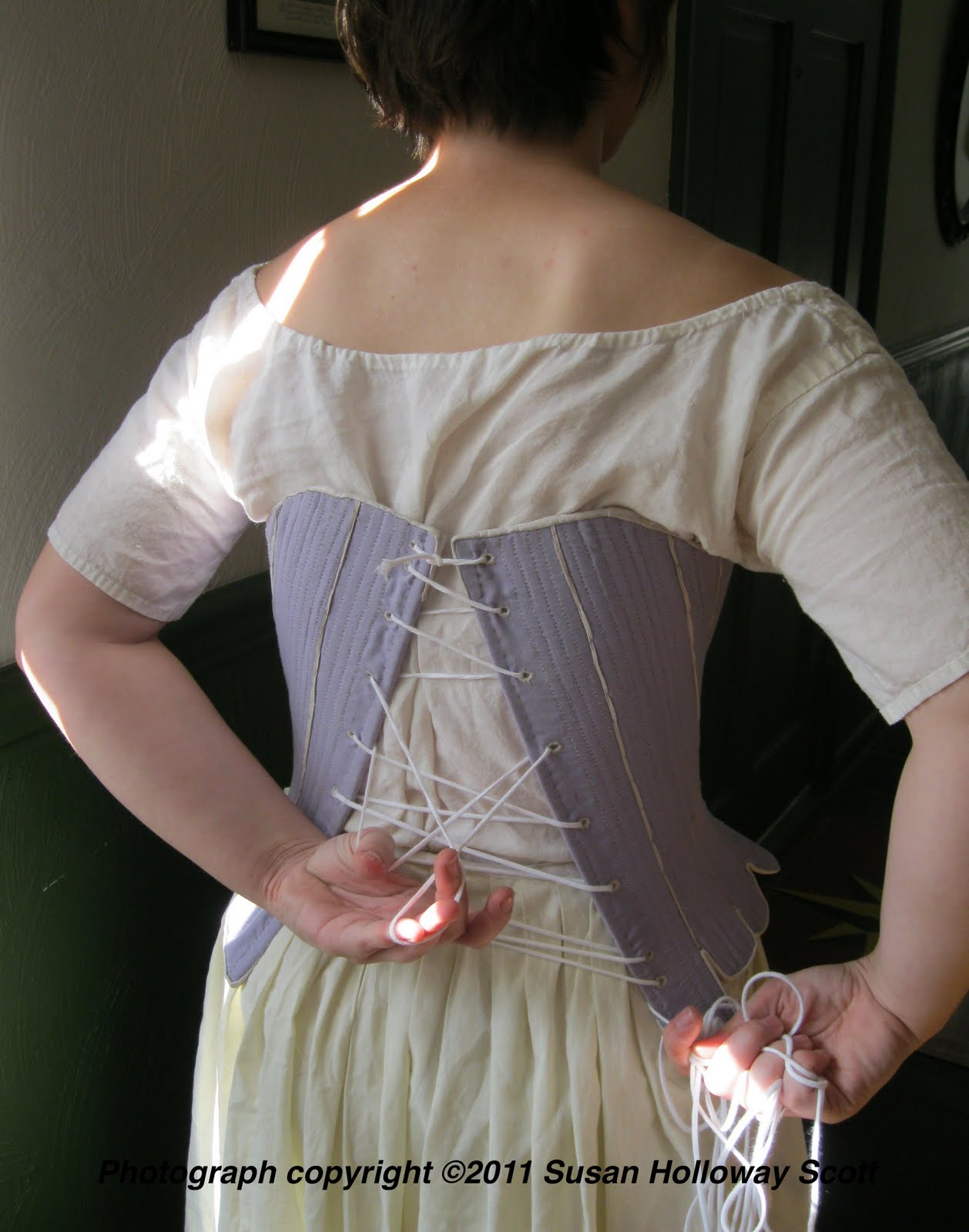 221822714c0 Two Nerdy History Girls  How to Lace Your Stays by Yourself