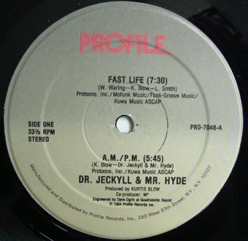 Dr. Jeckyll & Mr. Hyde – Fast Life / A.M. P.M. (1984, VLS, 192)