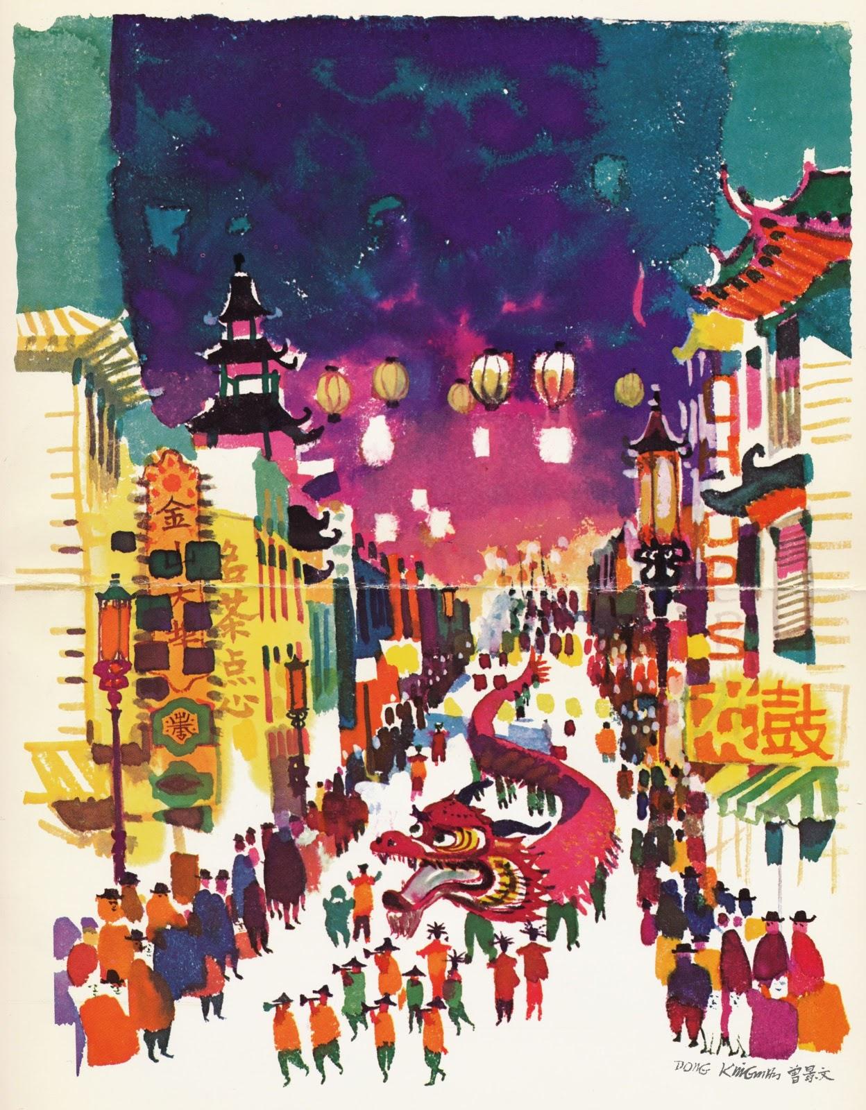 Chinese American Eyes Dong Kingman's Art
