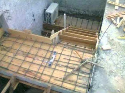 El maestro de obras xavier valderas hacer escalones de - Escaleras de hormigon armado visto ...