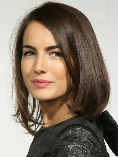 coiffure pour visage rond femme 20 ans