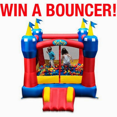 Enter the Blast Zone Magic Castle Bouncer Giveaway. Ends 6/24