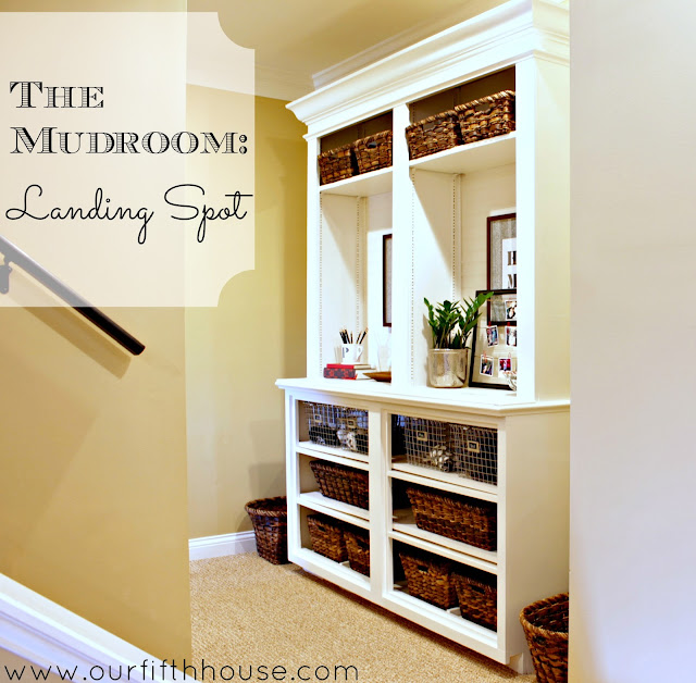 mudroom landing spot
