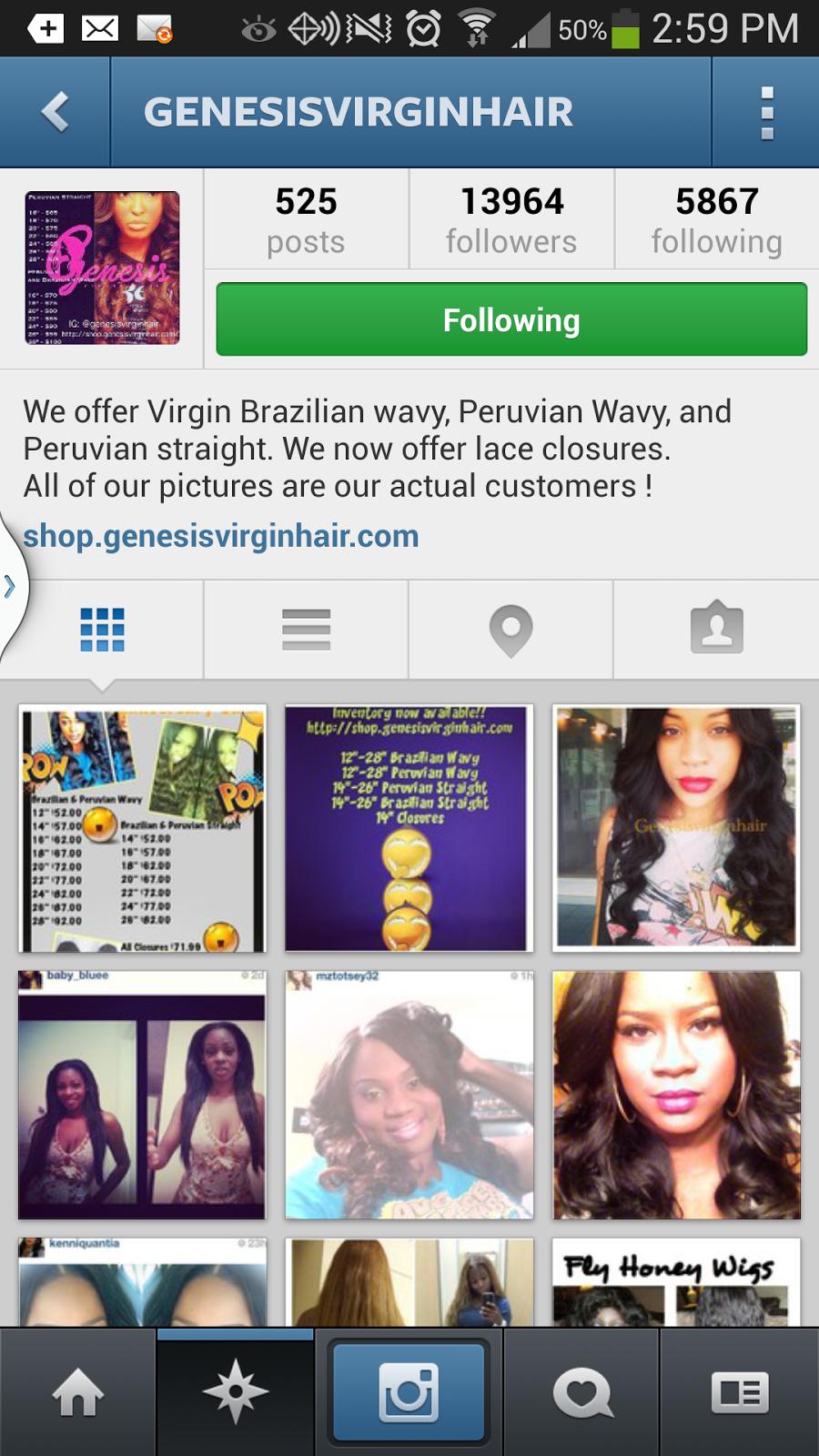 Communication Technology Genesis Virgin Hair A Organization