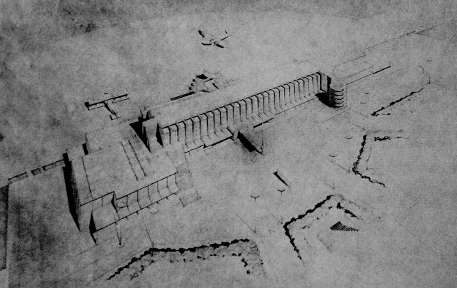 Aérogare du Bourget 1935 (Projet)
