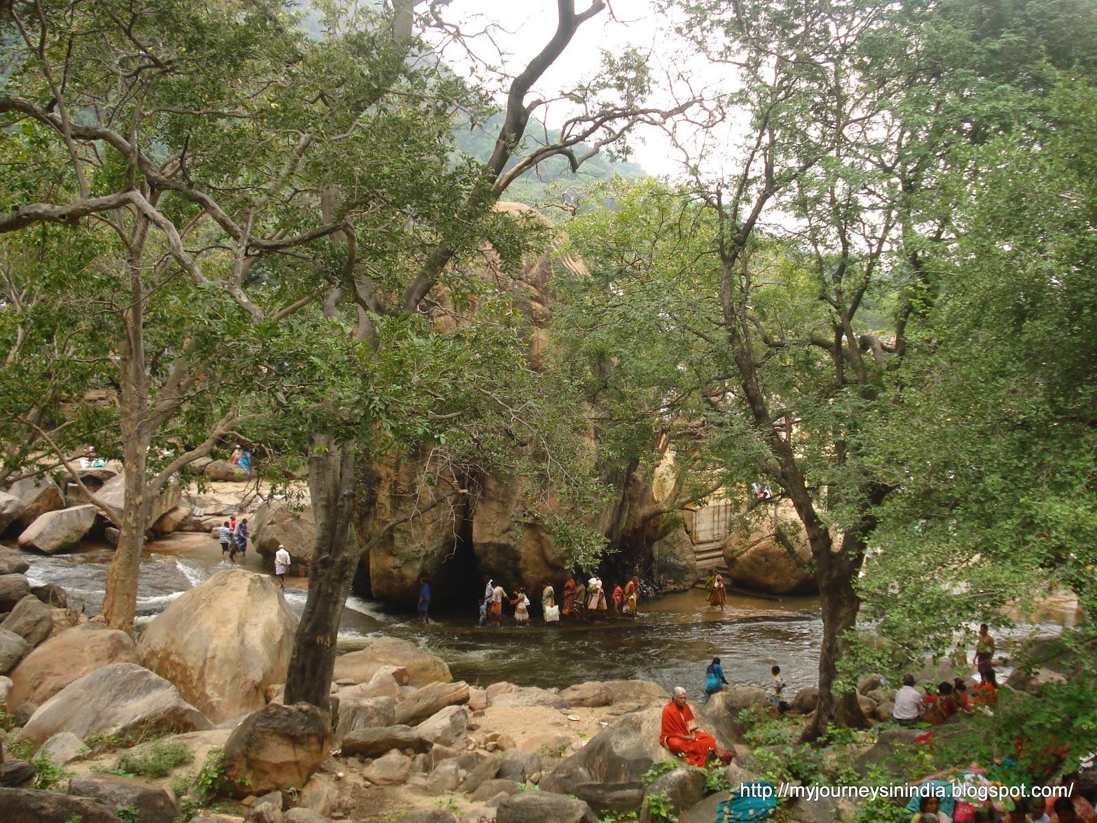 Thirumoorthy Falls Temple