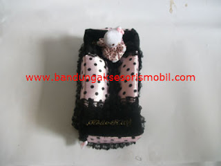 Box Tissue Hello Kitty New Colour Hitam Kombinasi Ungu