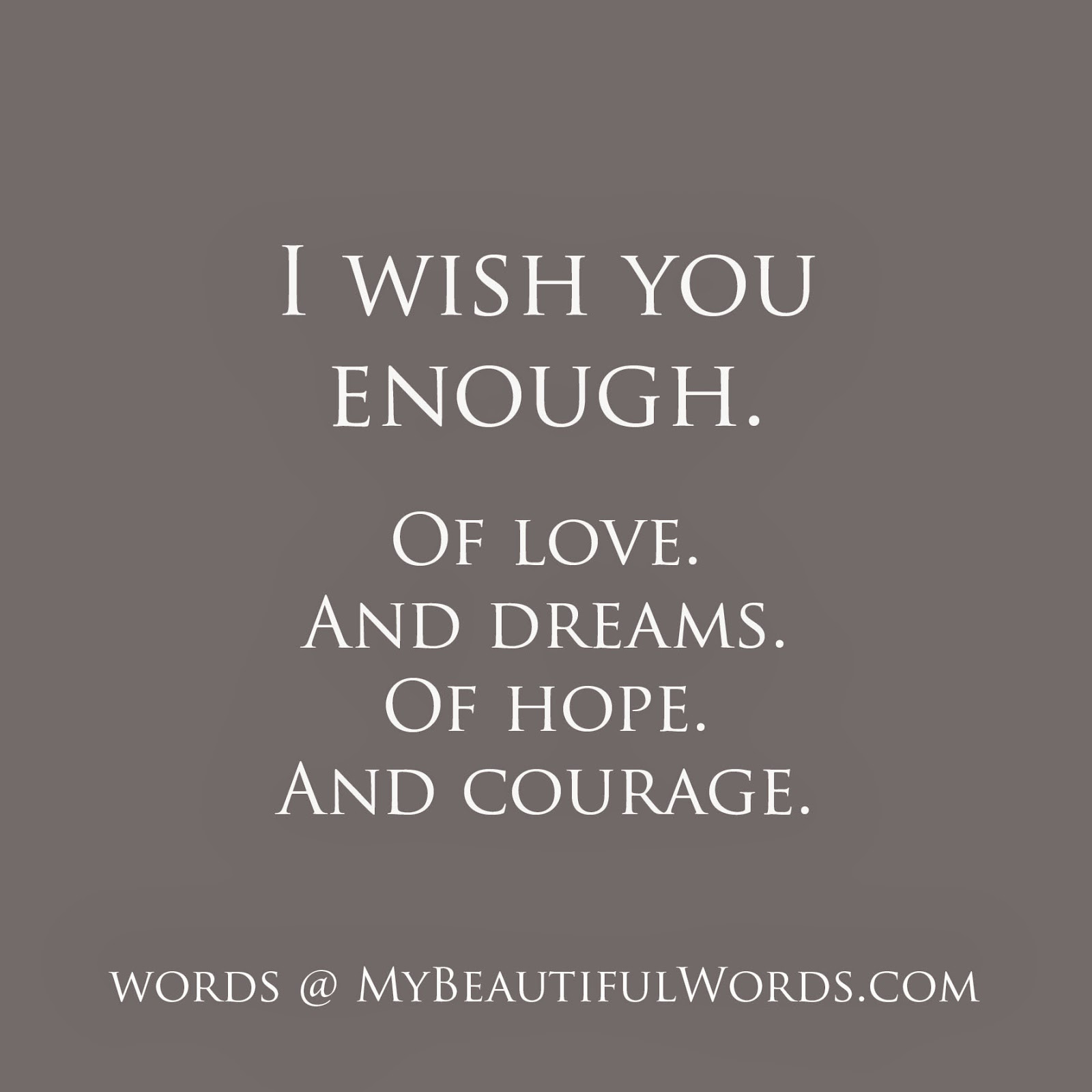 i wish you i wish you Have you ever wished that you could do something, but you know it's next to impossible for you well, here is where you can let it off your chest feel free to send me suggestions for my posts, and.