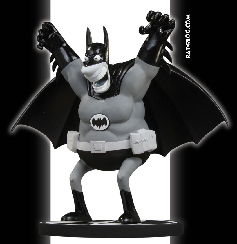 Action Figures: Marvel, DC, etc. - Página 2 Black-and-white-statue-batman-sergio-Aragones-mad