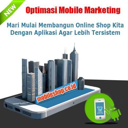 Jual Aplikasi Toko Online Shop Murah