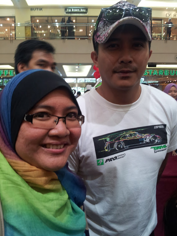 with Aaron Aziz Sept 2012