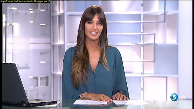 Sara Carbonero Deportes Telecinco 15-8-2012