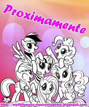 MY LITTLE PONY EQUESTRIA GIRLS: COLOREAR