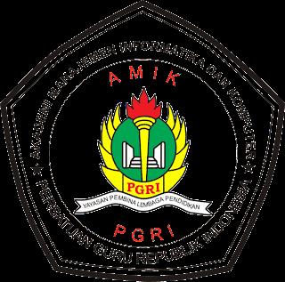 Logo AMIK PGRI Kebumen Besar