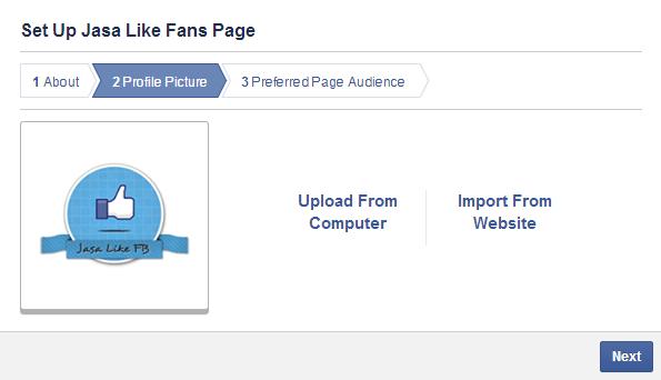 Cara Membuat Halaman Fans Page Facebook gambar 4
