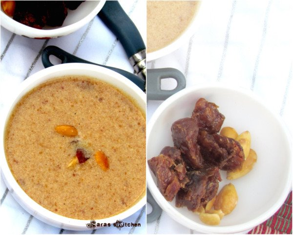 Dates Kheer / Payasam
