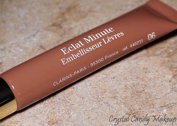 Embelliseur Lèvres Eclat Minute 06 Rosewood Shimmer de Clarins