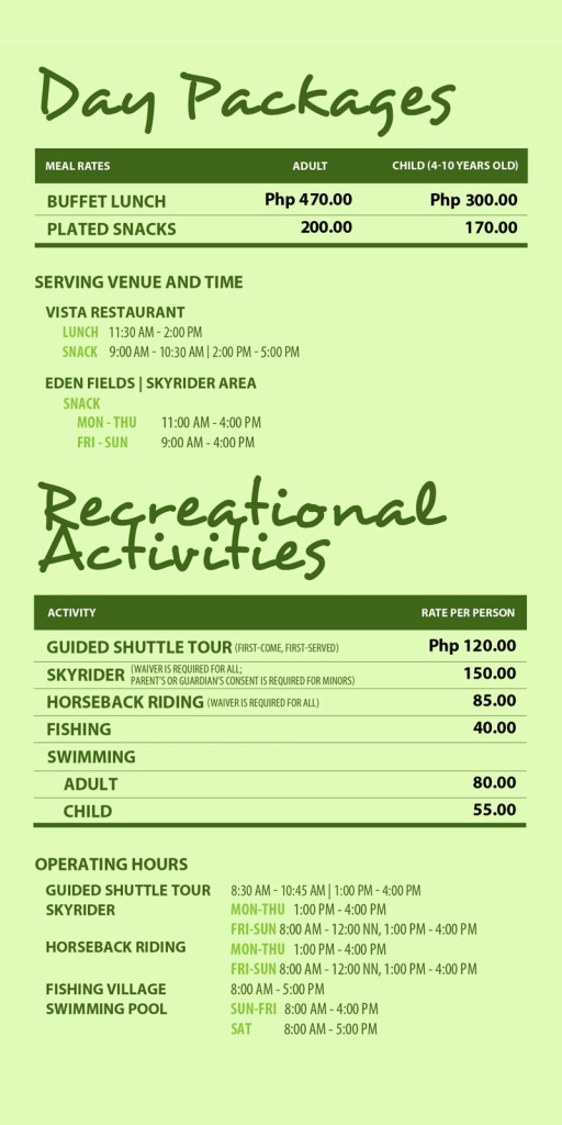 Eden Davao Room Rates
