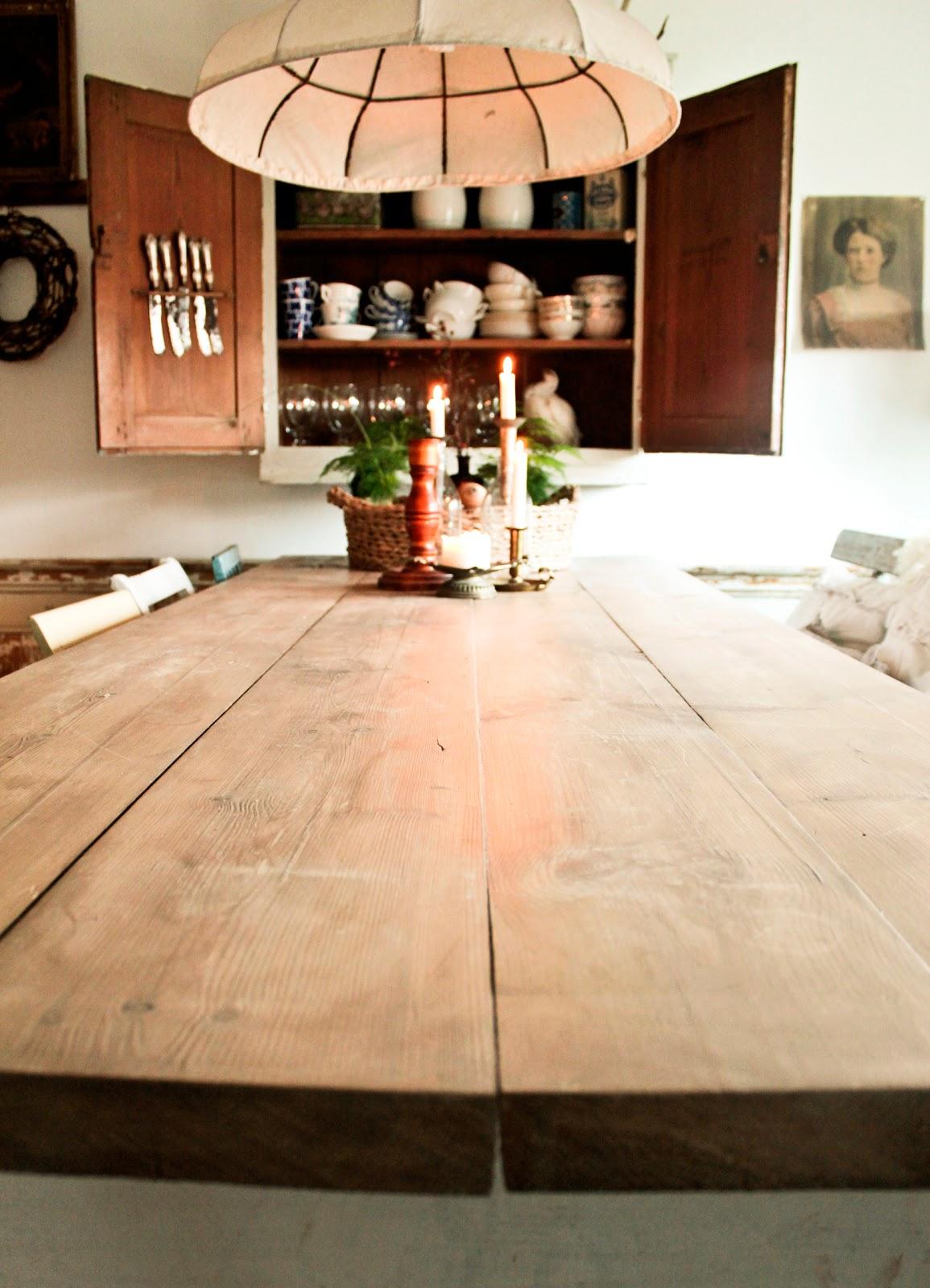 Vintage house: kÖksrenovering del 52: matbord