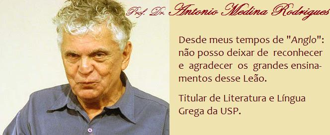 O Sábio Mestre: Antonio Medina Rodrigues (1940-2013)