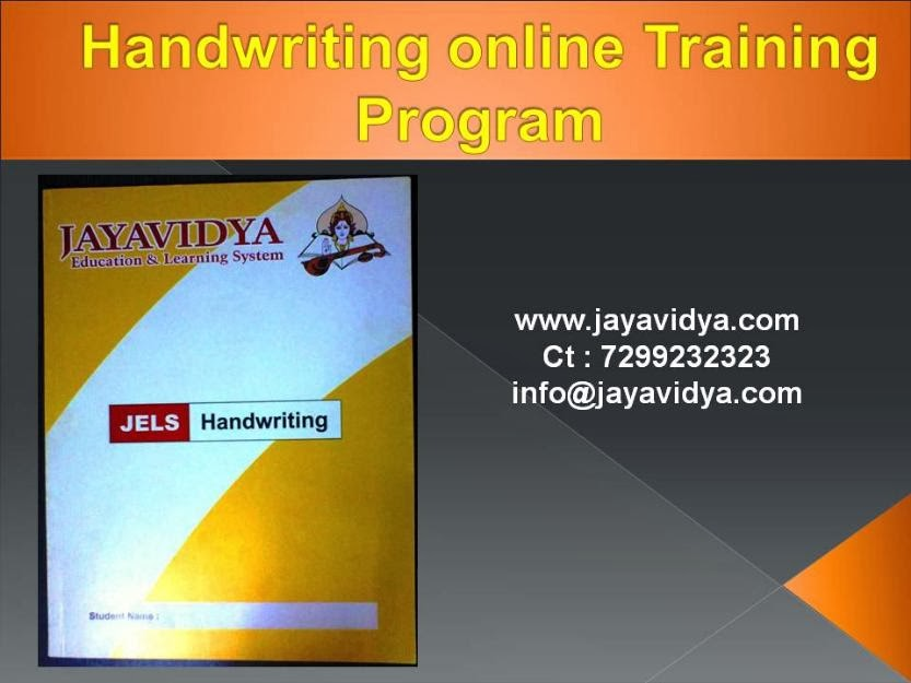 Handwriting Training