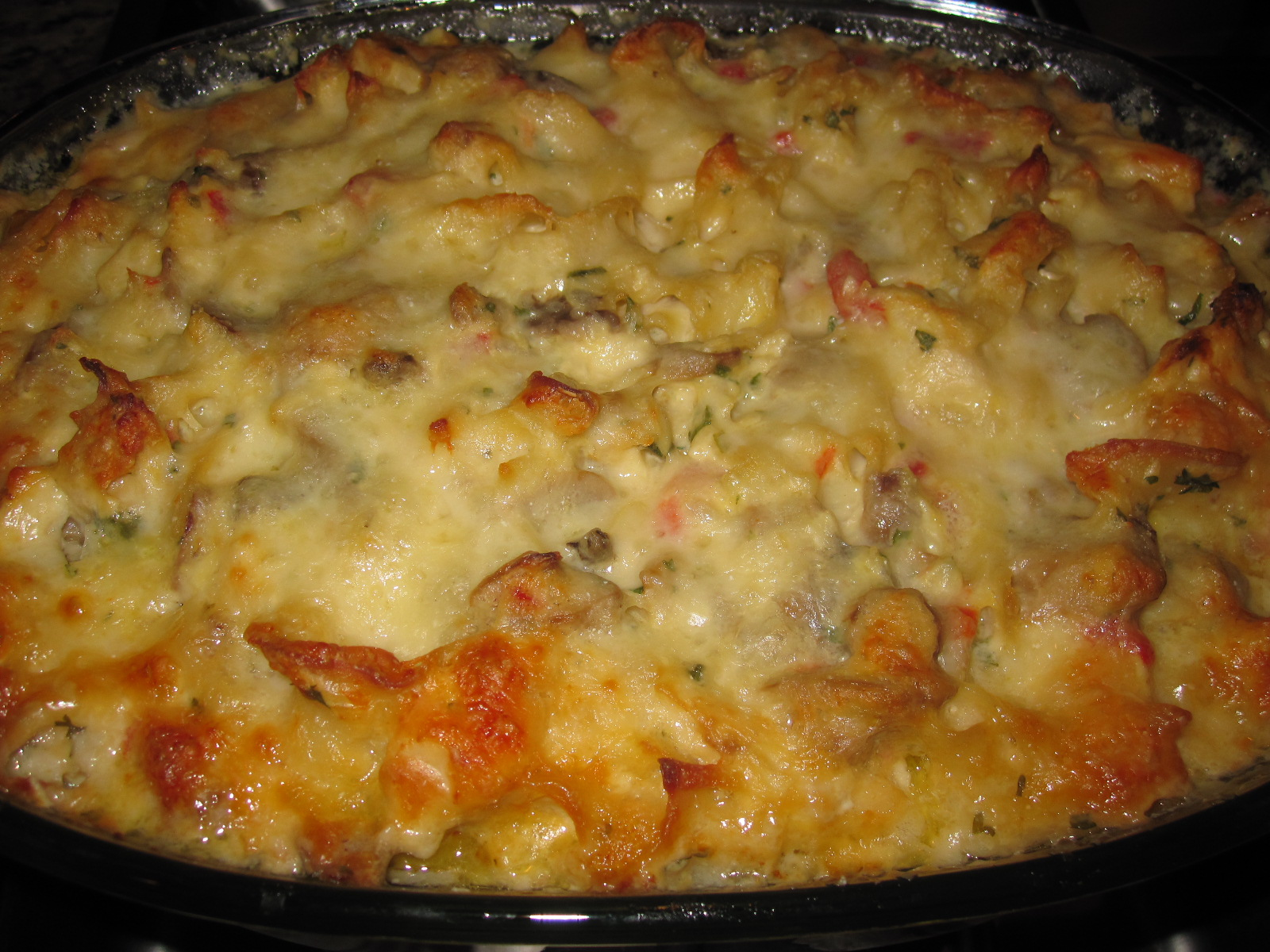 Creative Hospitality: Turkey (or Chicken) Noodle Casserole
