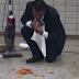 Comer espaguetti del piso, con Bissell Canada es extremo.