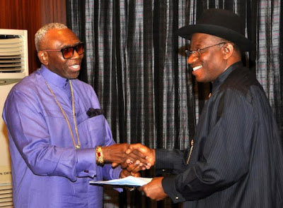 Oritsejafor and goodluck jonathan