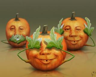 funny pumpkin faces