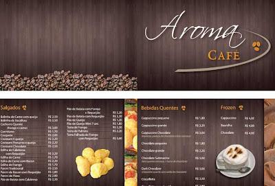 Mercadotecnia publicidad y dise o 30 excellent menu design for Disenos de menus para cafeterias